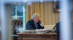 Trump In The Oval Office White House Mum On Whether Trump Is Recording Conversations