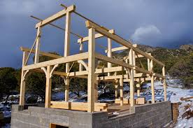 Small Timber Frame Homes by Timber Framing Smithworks Natural Homes