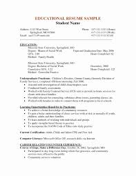 social worker resumes resume volunteer experience sle inspirational resume sle