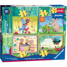 ravensburger night garden puzzle 4 box hobbycraft