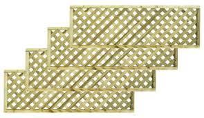 lattice fence panels diy