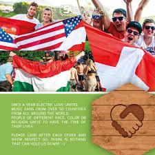 All 50 Flags Ehrenamtliche Einsatzkräfte Sind Bereit Für Das Electric Love