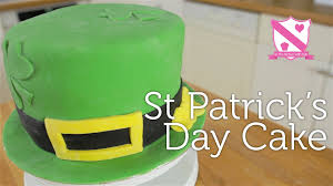 st patrick u0027s day cake hummingbird three layer vanilla sponge