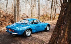 alpine a106 dreams of blue 1975 renault alpine a110 berlinette motor trend