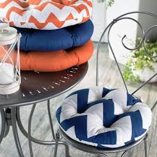 Outdoor Bistro Chair Pads Round Twinkle
