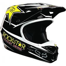rockstar motocross helmet casques fox 2013