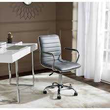furniture fascinating furry desk chair for stylish office