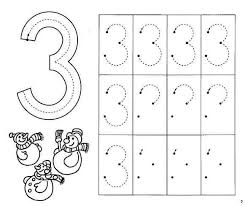 number 3 worksheets free worksheets library download and print