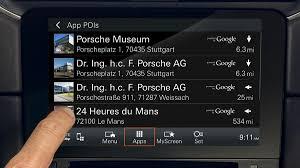 all the details about porsche connect porsche cars north america