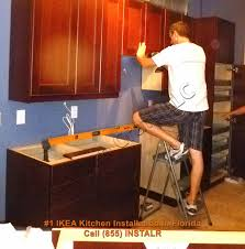 Install Ikea Kitchen Cabinets Ikea Kitchen Installation Tarpon Springs