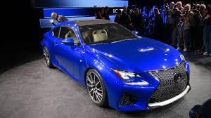 sporty lexus blue lexus rc f