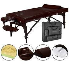 master massage equipment table master massage supreme lx 31 inch portable massage table package