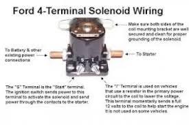 1965 mustang starter solenoid wiring diagram wiring diagram