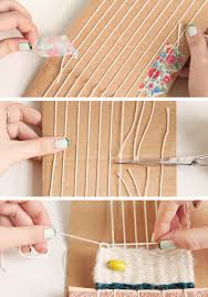 How To Make A Rag Rug Weaving Loom Learn To Weave Etsy Journal