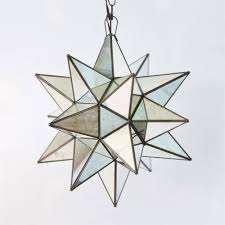 moravian star ceiling light moravian star 15 pendant chandelier large antique mirror by worlds