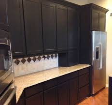 Black Cabinets In Kitchen Black Kitchen Cabinets In Southlake 5th Gen Custom Cabinets
