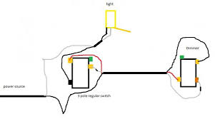 3 way circuit with dimmer issue doityourself com community forums