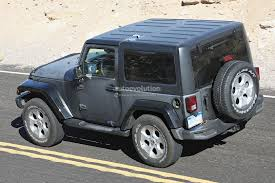 jeep truck 2 door update 2018 jeep wrangler jl to get 2 0 hurricane turbo engine