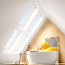 velux dachfenster flachdachfenster tageslichtspots rollläden