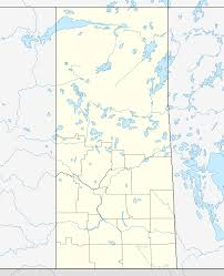 Winnipeg Canada Map by