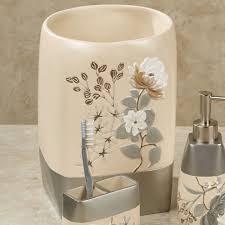 ashley floral bath accessories
