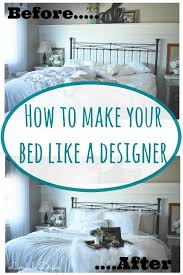 how to make a bed how to make your bed like a professional designer