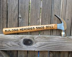 fifth anniversary gift ideas for him 5th anniversary gift for him building a together hammer