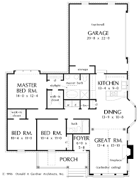 ranch style house plan 3 beds 2 baths 1440 sq ft plan 929 388