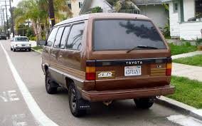 toyota minivan the street peep 1989 toyota van 4wd