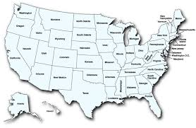 map usa color map usa color major tourist attractions maps us map