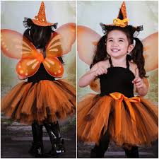 pumpkin fairy tutu dress halloween costume mia belle baby