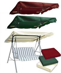 Folding Chair With Canopy Top by Abba Patio Outdoor Veranda 3 Triple Seater Hammock Canopy Swing