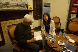 cenhs rice a discussion with amitav ghosh u201cshanghai encounter