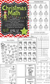 holiday worksheet for 5th grade christmas activity sheets for