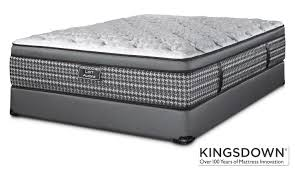 Leons Furniture Kitchener Kingsdown Aurora Queen Mattress Boxspring Set Leon U0027s