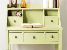 Small Drop Front Secretary Desk by Secretary Desks For Small Spaces