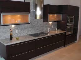 Kitchens With Stone Backsplash Kitchen Design Cabinet Renovation Cost Ge Stove Burners Gray