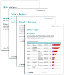 nessus report templates prioritize hosts report sc report template tenable