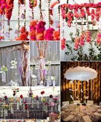 wedding floating ceremony arbor reception centerpieces