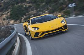 lamborghini aventador on the road lamborghini aventador by car magazine