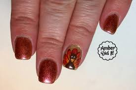 wish you thanksgiving amber did it magnificent mani monday thanksgiving edition