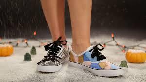 diy nightmare before shoes