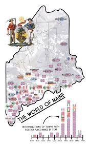 Map Of Maine Cities Megan Nowak
