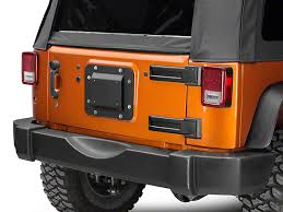 jeep wrangler jk tires barricade wrangler spare tire delete w license plate mount