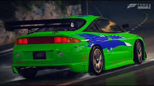 mitsubishi eclipse fast and furious igcd net mitsubishi eclipse in forza horizon 2