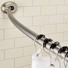 Tension Shower Curtain Rod Maytex Smart Curved No Drill Shower Curtain Tension Rod
