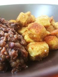 cuisiner tofu fumé tofu fumé pané et ses lentilles parfumées petits plats pour un