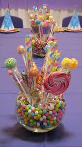 Table Centerpieces For Party by Best 25 Candy Centerpieces Ideas On Pinterest Candy Theme