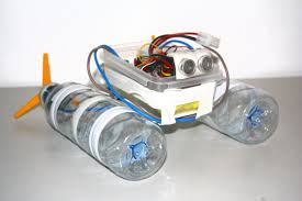 build a robot boat using water bottles robot boating and homemade