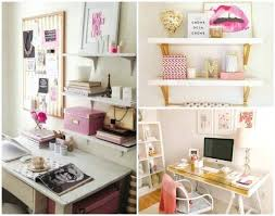 Diy Office Decorating Ideas Diy Office Desk Decor Ideas Home Generation Of Style Collage 1